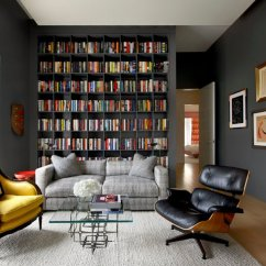 Bookshelf In Living Room What Color Should I Paint My With A Brown Leather Couch 22 Interesting Ways To Add Bookshelves The Home