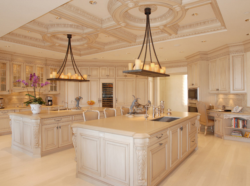 20 Unique Designs of Candle Chandeliers in the Kitchen