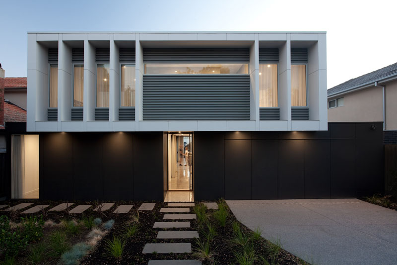 Hayes Road: A Simple Modern Home in Melbourne