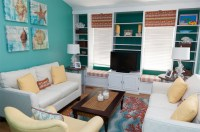 22 Beach Themed Home Decor in the Living Room | Home ...