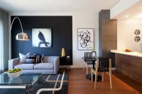 20 Knockout Black Accent Wall in the Living Room | Home ...