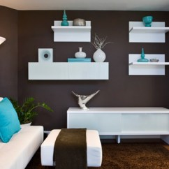 Shelves Living Room Design With Wood Stove 20 Wooden Floating In The Home Lover