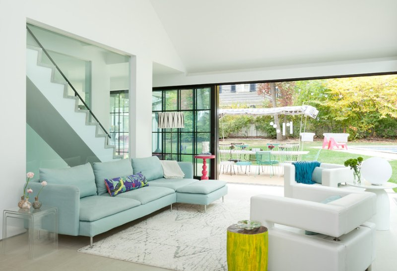 22 Awesome Glass Sliding Doors in the Living Room