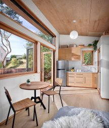 Small Contemporary Guest House With Compact Living