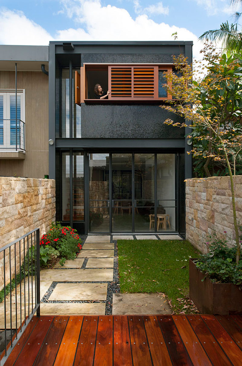 Small Terrace House Design Architecture Home Decor