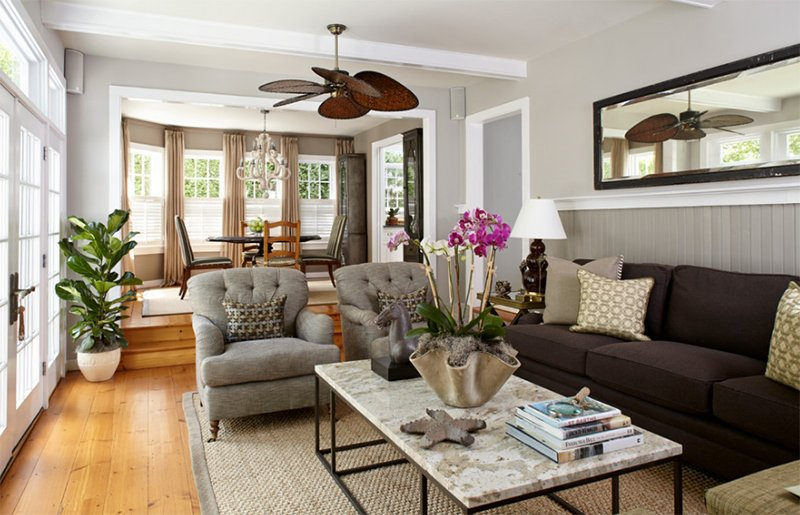 transitional style sectional sofas different types of sofa cushions 22 gorgeous brown and gray living room designs | home ...