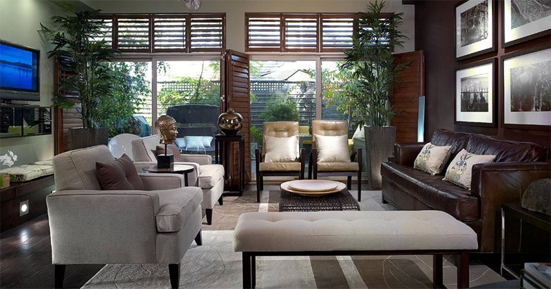 decorating ideas for living room with dark gray walls furniture layout 22 gorgeous brown and designs | home ...