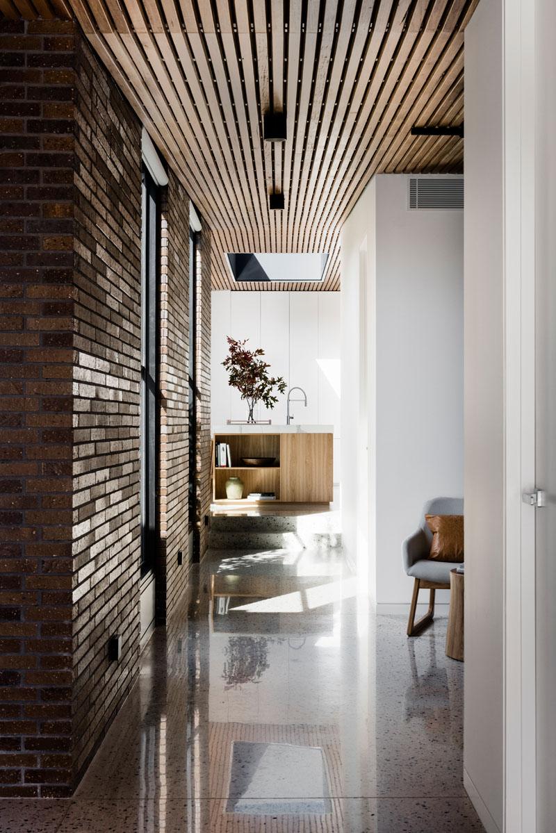 Courtyard House interior