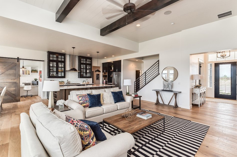 best family sofas uk marshmallow sofa george nelson 20 modern farmhouse living room designs | home design lover