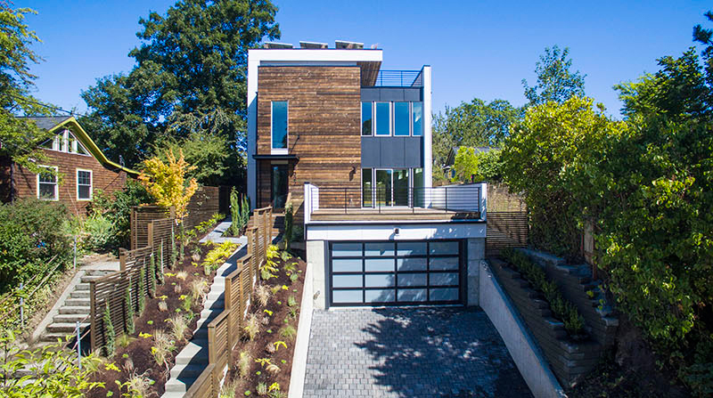 Capitol Hill 5-Star Built Green Home Features Solar Panels and a Green Roof