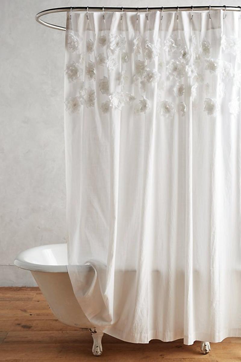 stylish bohemian shower curtain ideas