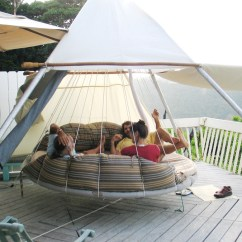 Swing Chair With Stand Amazon Covers Overall Floating Beds By John Huff   Home Designing