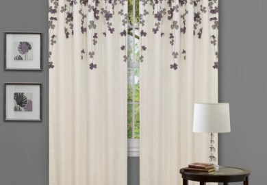 Gray Chevron Curtains