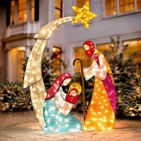 Christmas Decorations Nativity Sets Pictures to Pin on ...
