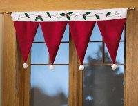 Lovable Christmas Curtain Designs | Home Designing
