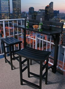 Small Balcony Bar Table