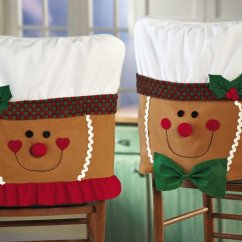 Christmas Dining Room Chair Covers Ofm Posture Task Holiday Cover Pattern | Home Designing