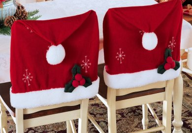 Christmas Chair Covers Ideas