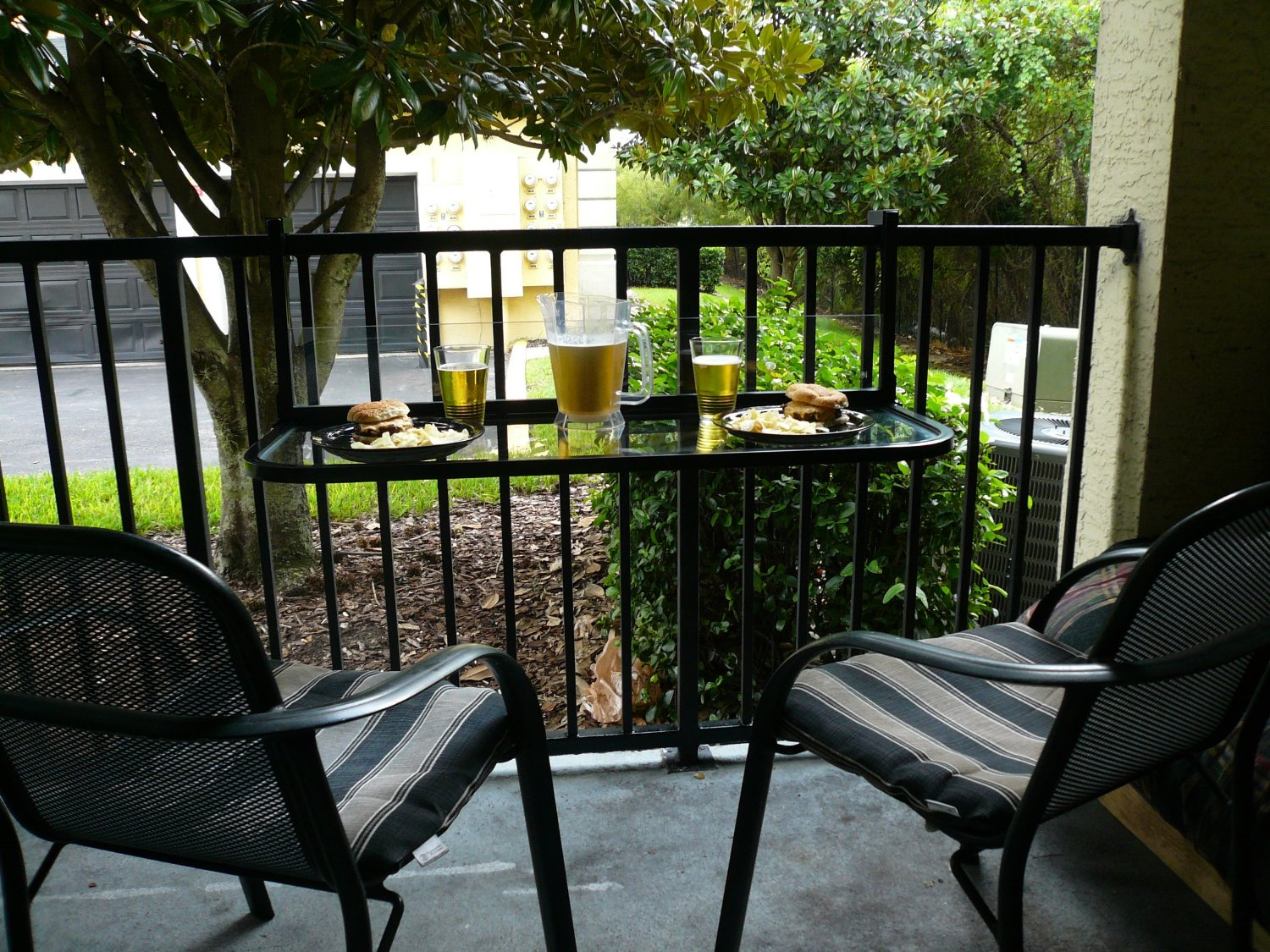 chair design for terrace adirondack cushions lowes space saving table small balconies home designing