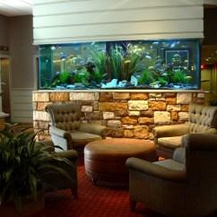 Decor For Large Living Room Walls Luxury American Villa Interior Design Aquarium Patterns Home & Office | Designing