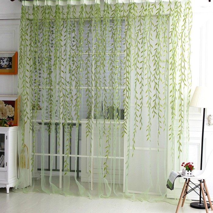 beautiful sheer curtain panels which