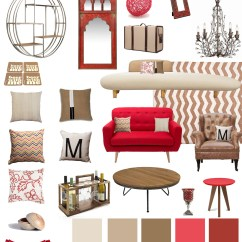 Red Living Room Accessories Coffee House La Jolla Ca 92037 Decor 101 Tan And Beige Romantic Design Your