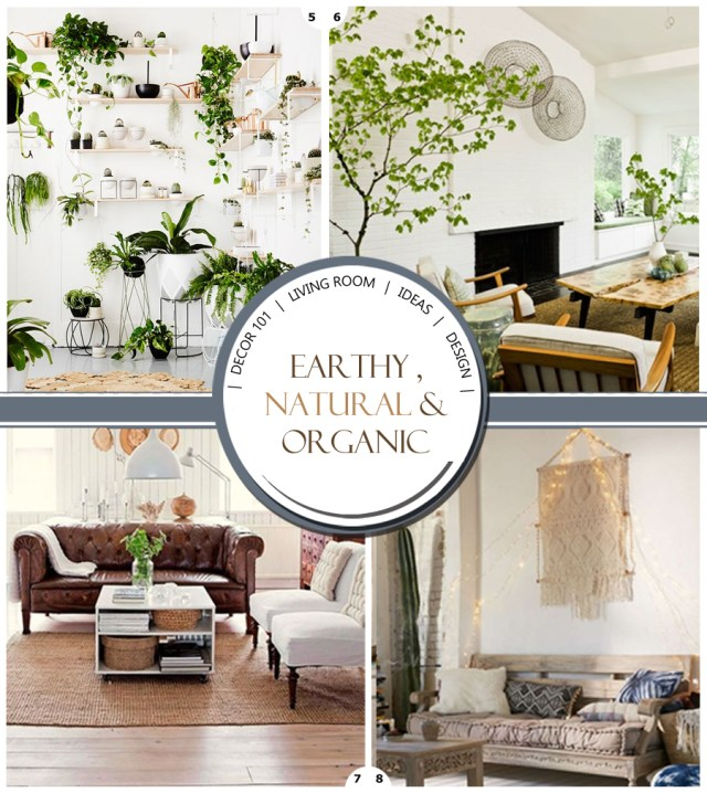 organic living room decor ideas  Design Your Home With Style