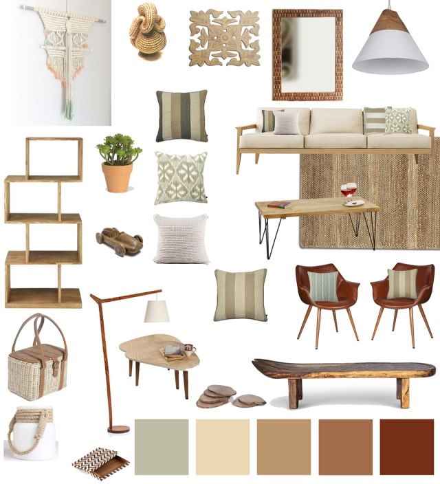 Decor 101 Earthy Natural  Organic Living Room  Design