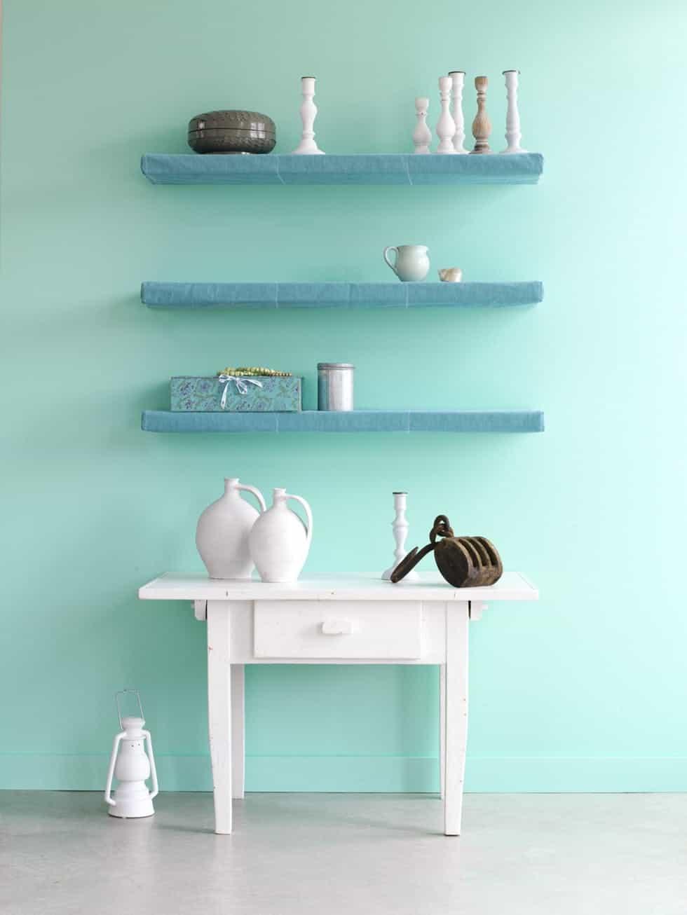 Aqua Mint home decor trend
