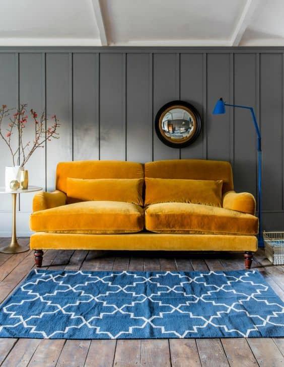 Velvet Sofas and Armchairs