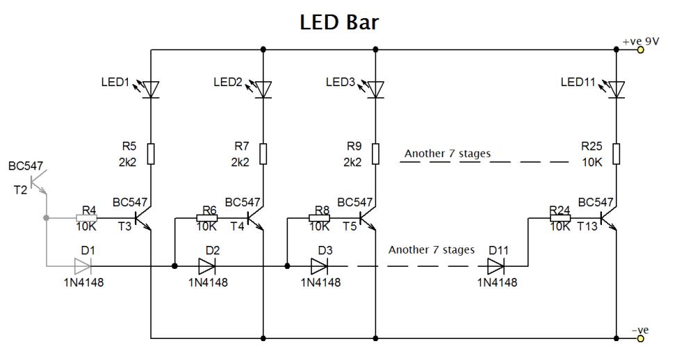medium resolution of led bargraph circuit diagram