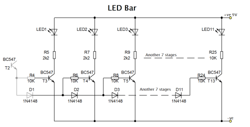 small resolution of led bargraph circuit diagram