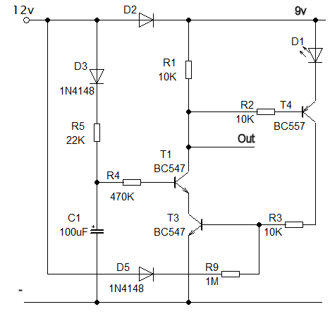 Power Off Delay Circuit