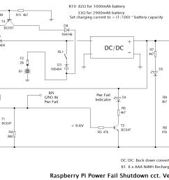 full ups circuit with safe shutdown [ 1303 x 830 Pixel ]