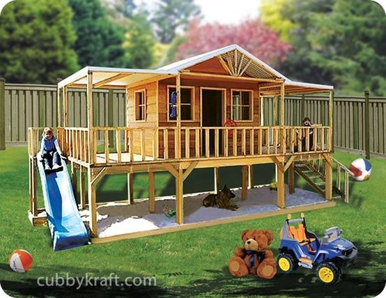Elevated playhouse