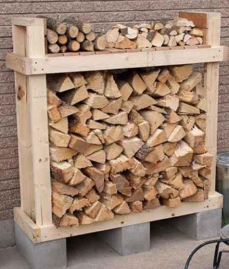 firewood storage 2x