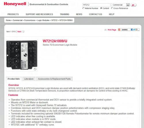 small resolution of honeywell has a checkout procedure for every economizer logic module