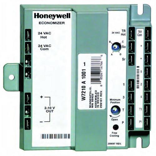 small resolution of section 7 w6210 and w7210 economizer modules section 7 w6210