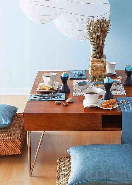 Summer Dining Table Decor Dining Table Decor Ideas: Breakfast Table Decoration