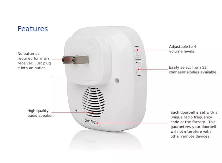 SadoTech-Wireless-Doorbell