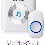 Fosmon wireless doorbell 51001HOM with portable receiver