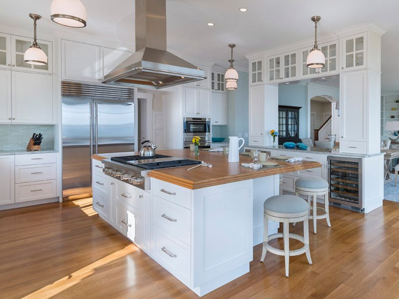 large kitchen island sink clogged 25 ideas home dreamy with stove davitt design build