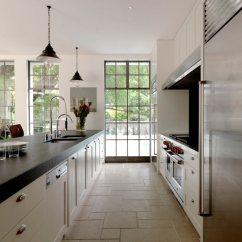 Long Kitchen Island Danze Faucets 25 Ideas Home Dreamy Galley Layout Luigi Rosselli Architects