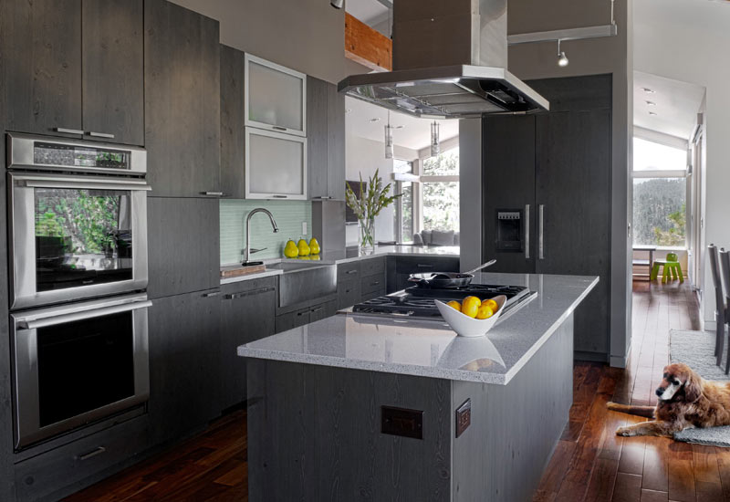 kitchen island with range ladder 25 ideas home dreamy modern and hood hmh
