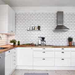Black And White Tile Kitchen Backsplash Samsung Suite 27 Designs Home Dreamy