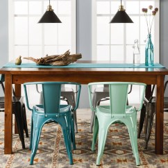Dining Table With Metal Chairs Marshalls Furniture 7 Rustic Tables Farm 60 Target Threshold