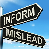 Inform Mislead Signpost Meaning Advise Or Misinform