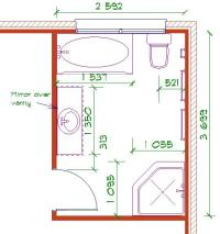 Jack and jill bathroom layout - large and beautiful photos ...