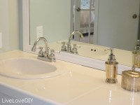 Tile bathroom countertop - large and beautiful photos ...