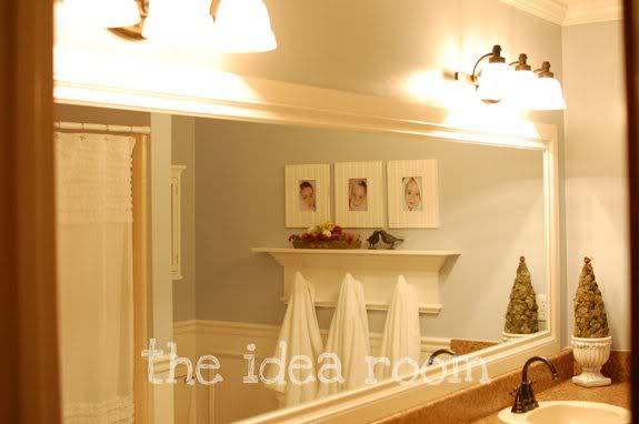 diy bathroom mirror frame ideas - large and beautiful photos
